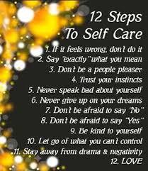 Self-care-steps