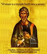 3 Vile quotes Tertullian 2